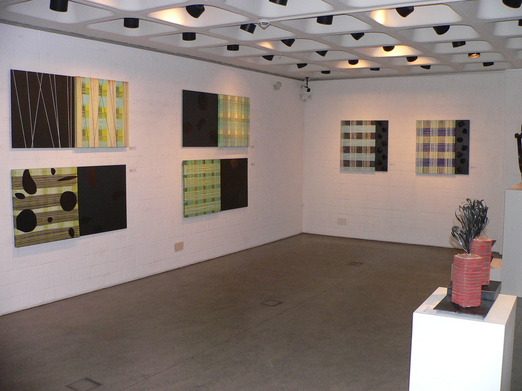 Arno C. Schmetjen: Carbon goes art, Ausstellungssituation, 2012
